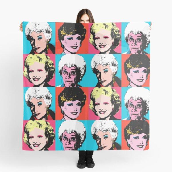 Golden Warhol Girls Scarf