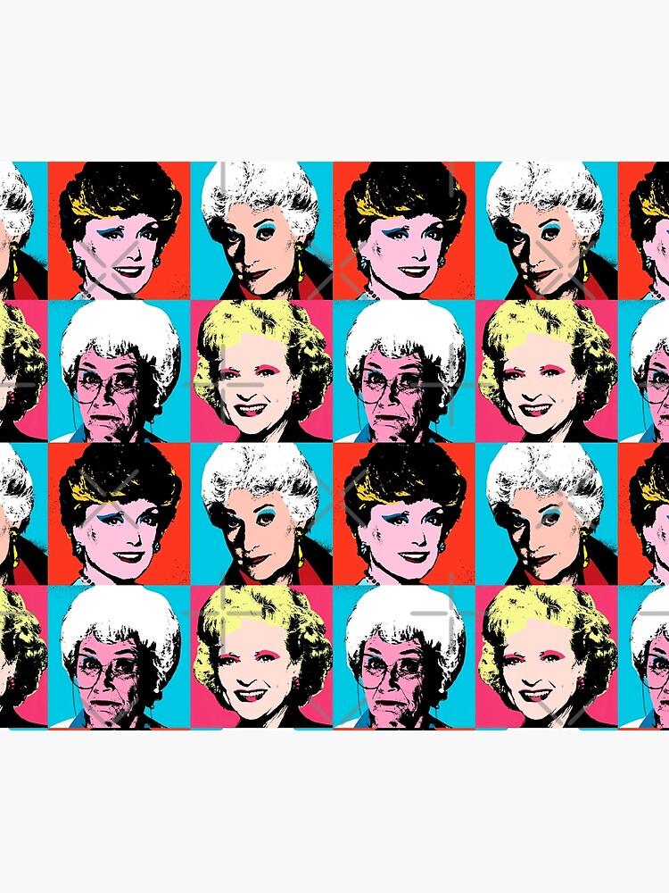 Golden Warhol Girls by Retro-Freak