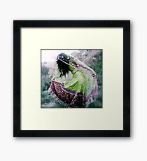 Fearless Dancing Framed Print