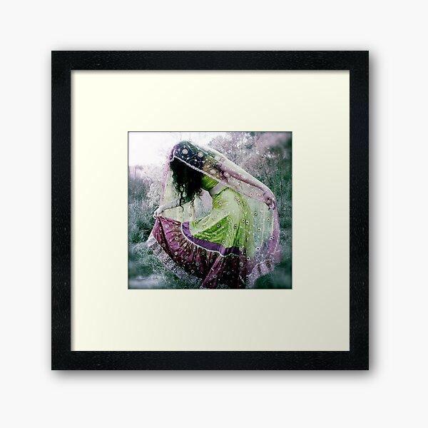 Fearless Dancing Framed Art Print