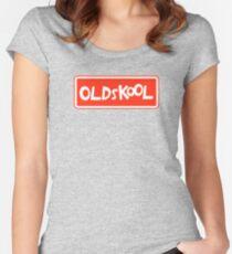Oldskool Women's Fitted Scoop T-Shirt
