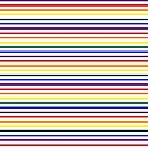 Simple Pride Stripes by technoqueer