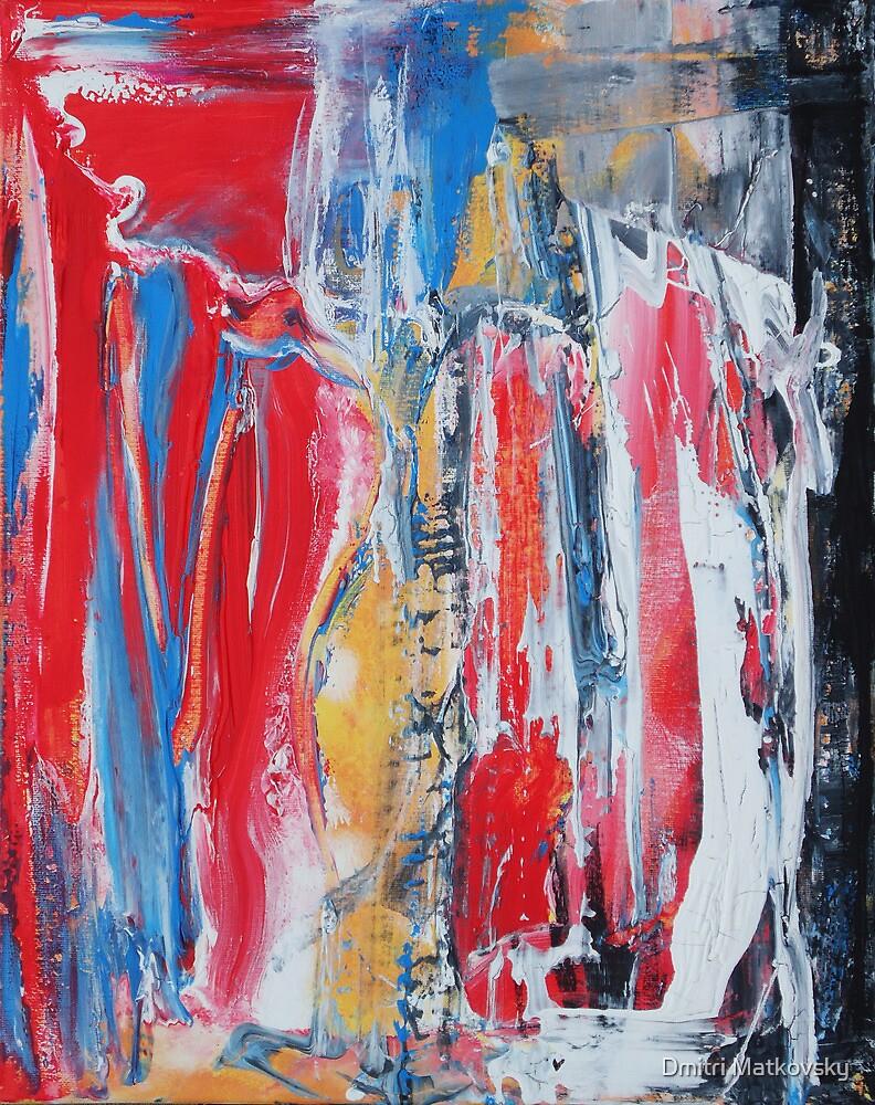 Red fantasy by Dmitri Matkovsky