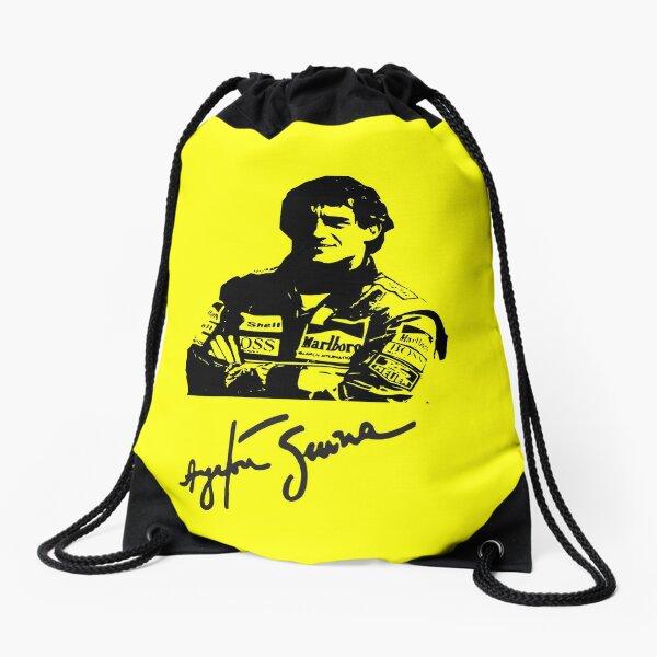Ayrton Senna tribute Drawstring Bag