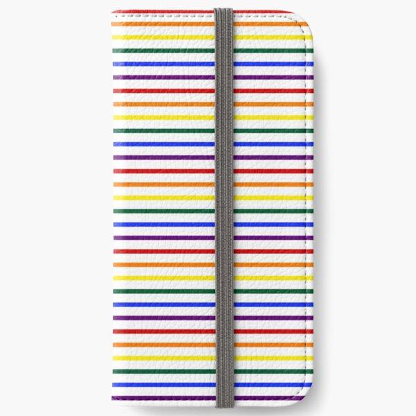 Simple Pride Stripes iPhone Wallet