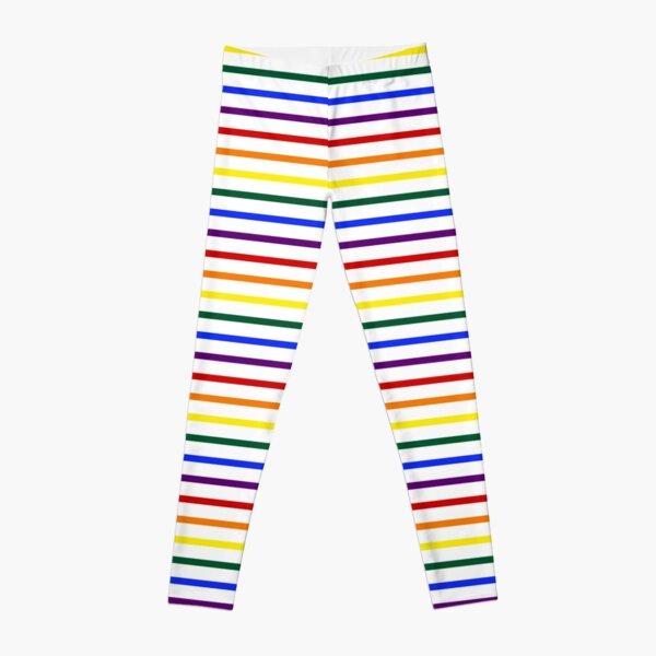 Simple Pride Stripes Leggings