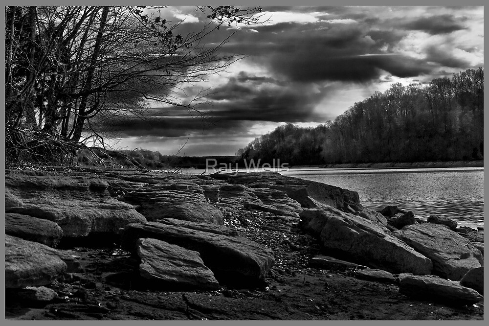 Sandstone Banks by Ray Wells