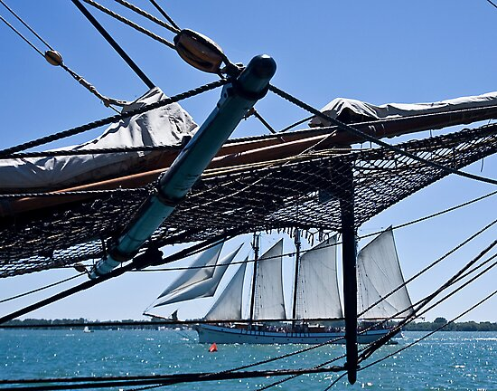 The Tall Ships Arrive in Toronto by Scott Howard