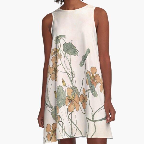 Winding A-Line Dress