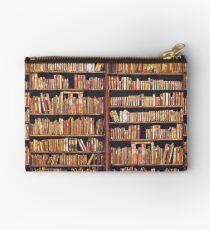 Bibliophile Zipper Pouch