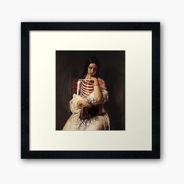 THE LONG WAITING ⠀ Framed Art Print