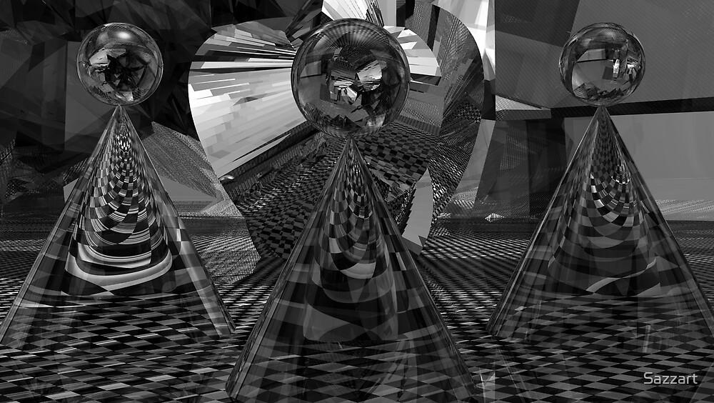 Traditional Escher Chaos by Sazzart
