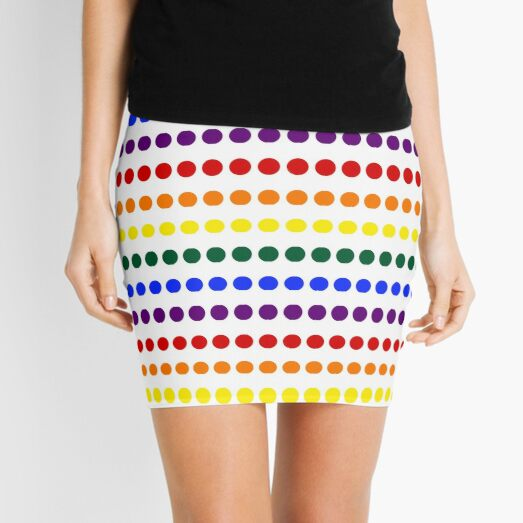 Pride Dots Mini Skirt