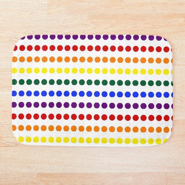 Pride Dots Bath Mat