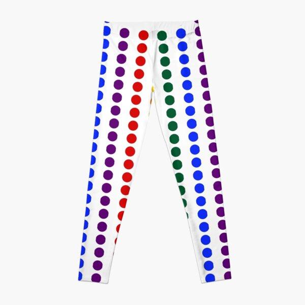 Vertical Pride Dots Leggings