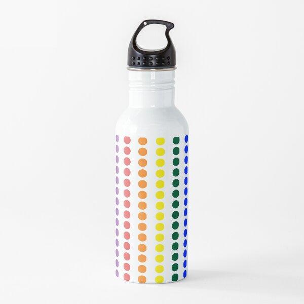 Vertical Pride Dots Water Bottle