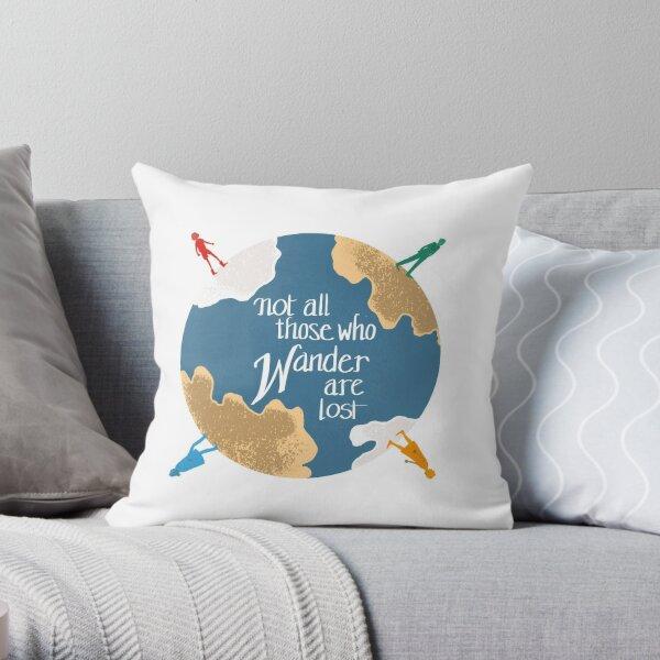 Wanderer (no background)  Throw Pillow