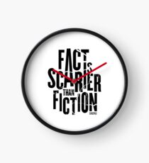 Casefile True Crime – Fact Is Scarier Than Fiction (Dark) Clock