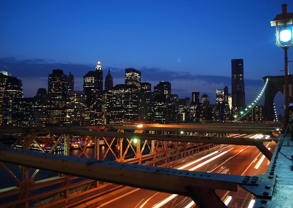 brooklyn bridge by choppers
