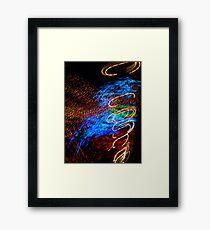Abstract Angel by Bradley Blalock Framed Print
