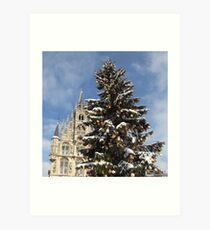 Christmas in Gouda III Art Print
