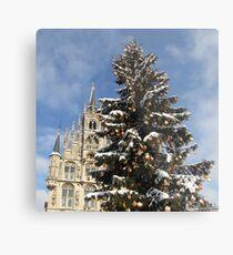Christmas in Gouda III Metal Print