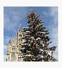 Christmas in Gouda III Photographic Print