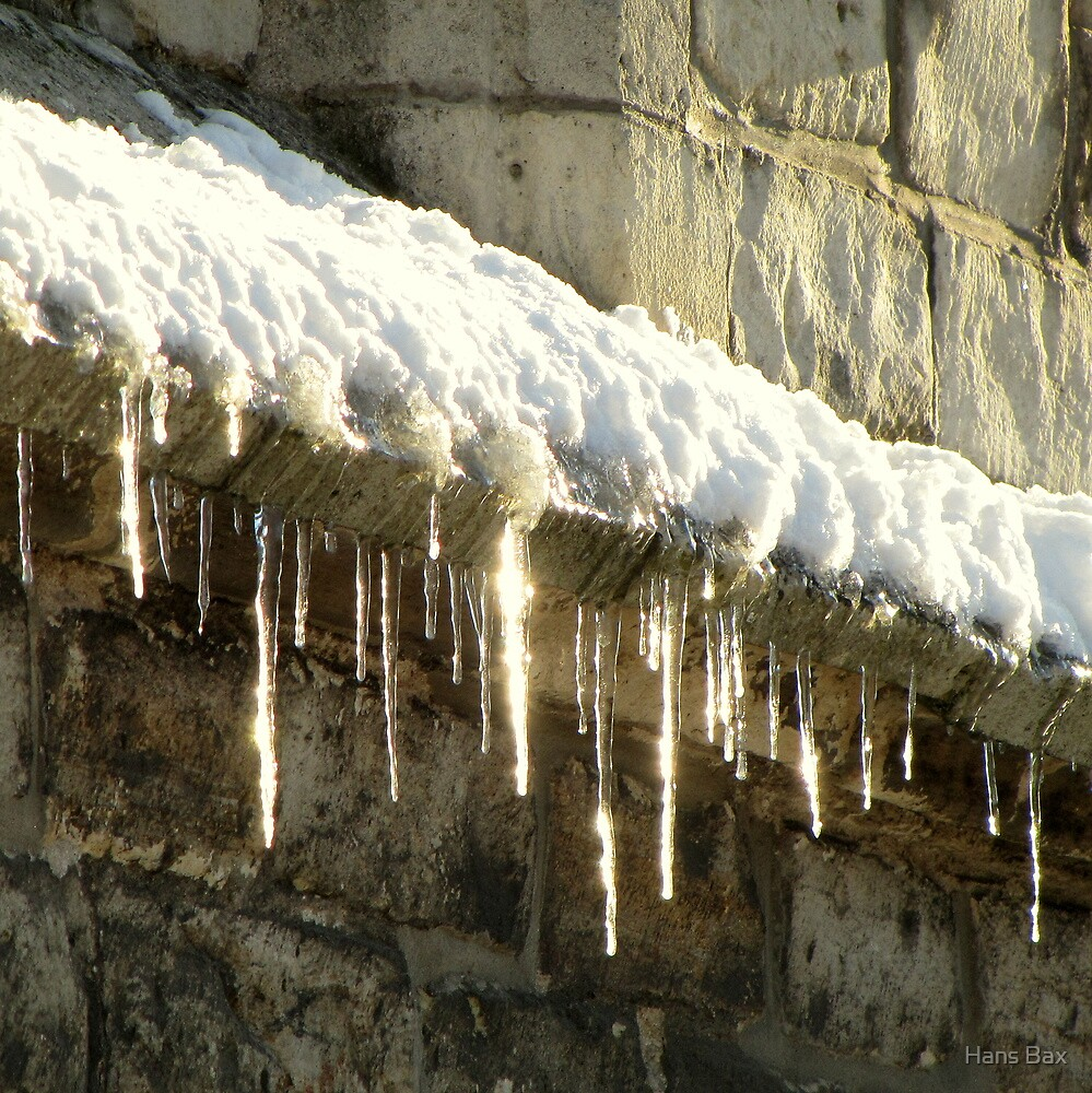 Icicle lights by Hans Bax