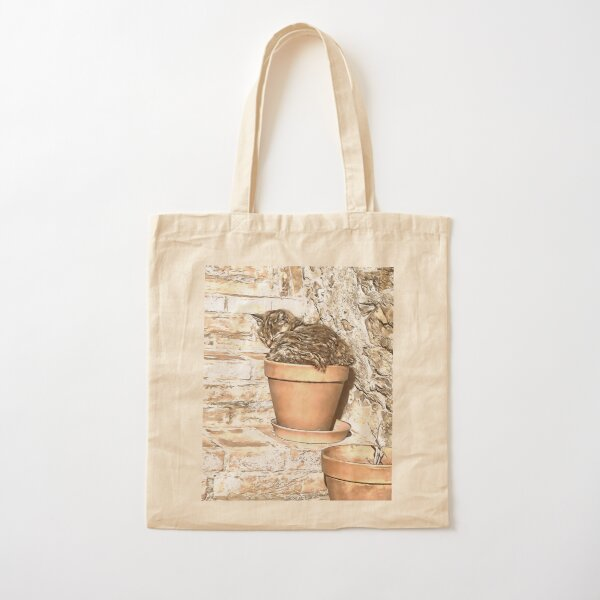 No Room For Geraniums Cotton Tote Bag