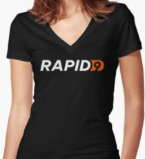 Rapid9 Women's Fitted V-Neck T-Shirt