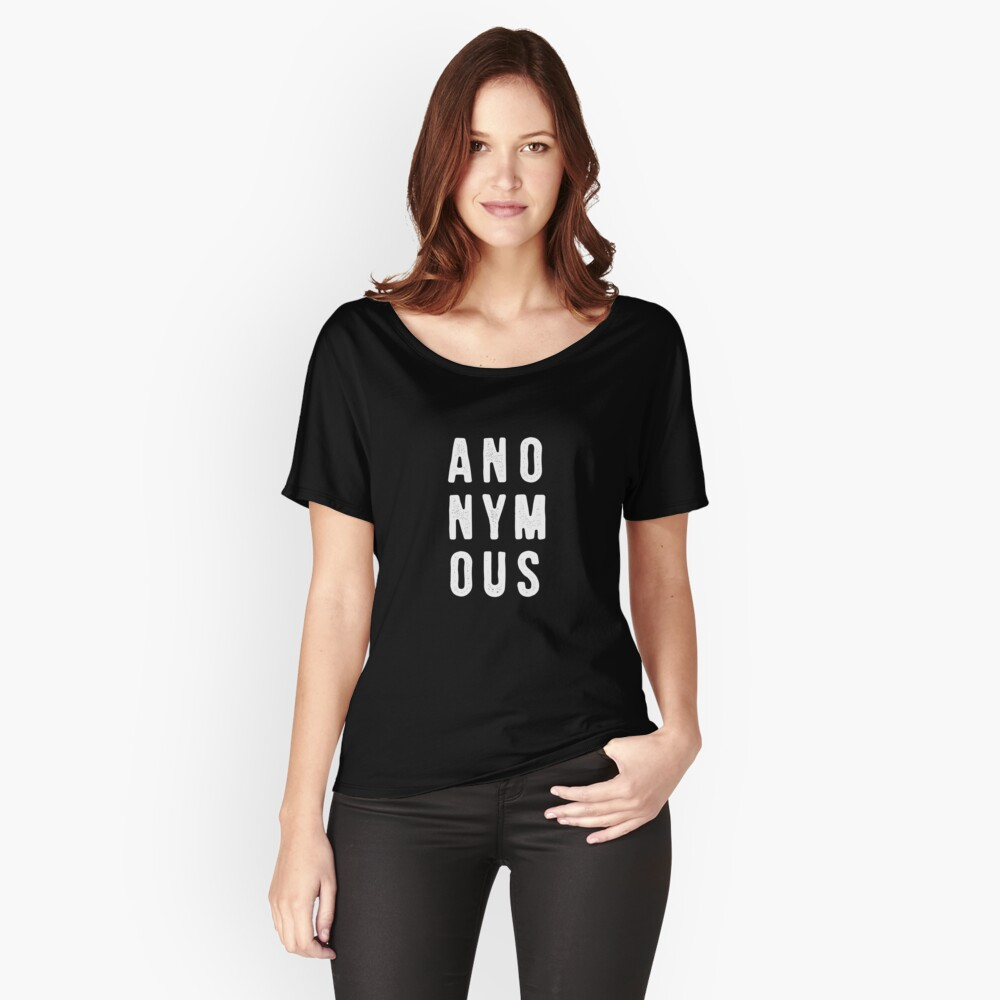 Casefile True Crime – Anonymous (Light) Relaxed Fit T-Shirt