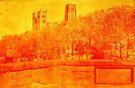 Durham Cathedral from Prebends Bridge by Nigel Fletcher-Jones