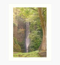Dyserth Waterfall, Denbighshire, Wales, UK Art Print