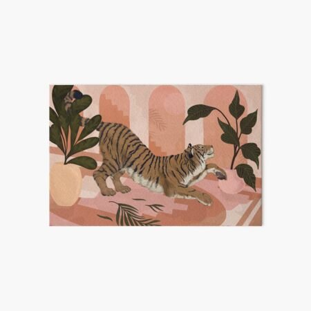 Easy Tiger Art Board Print