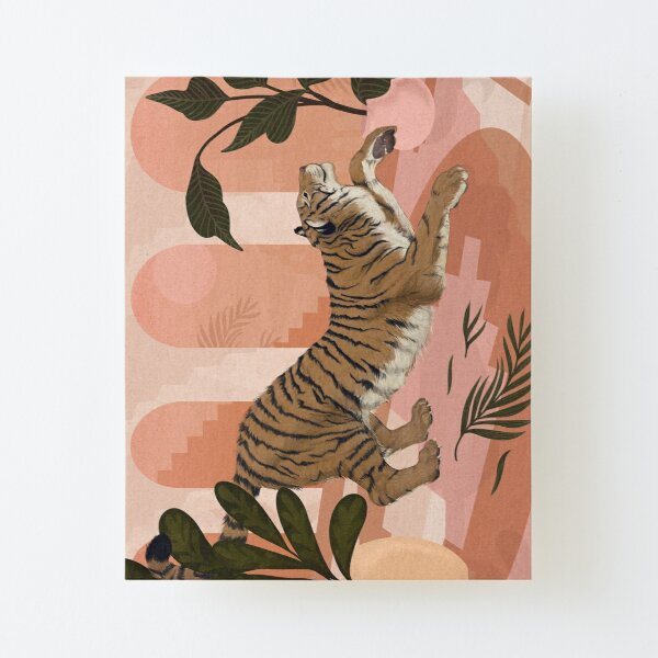 Easy Tiger Canvas Mounted Print