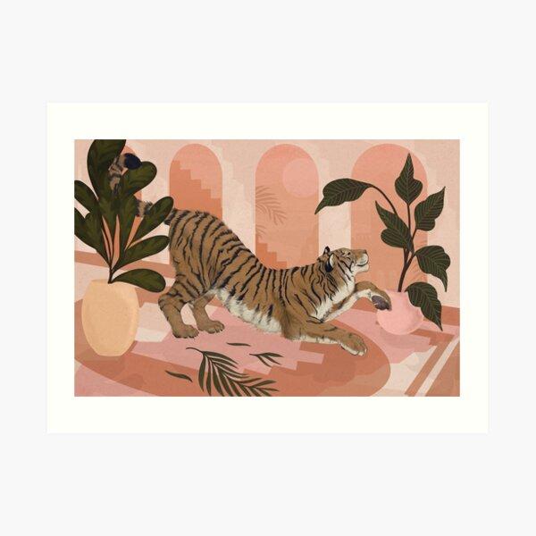 Easy Tiger Art Print