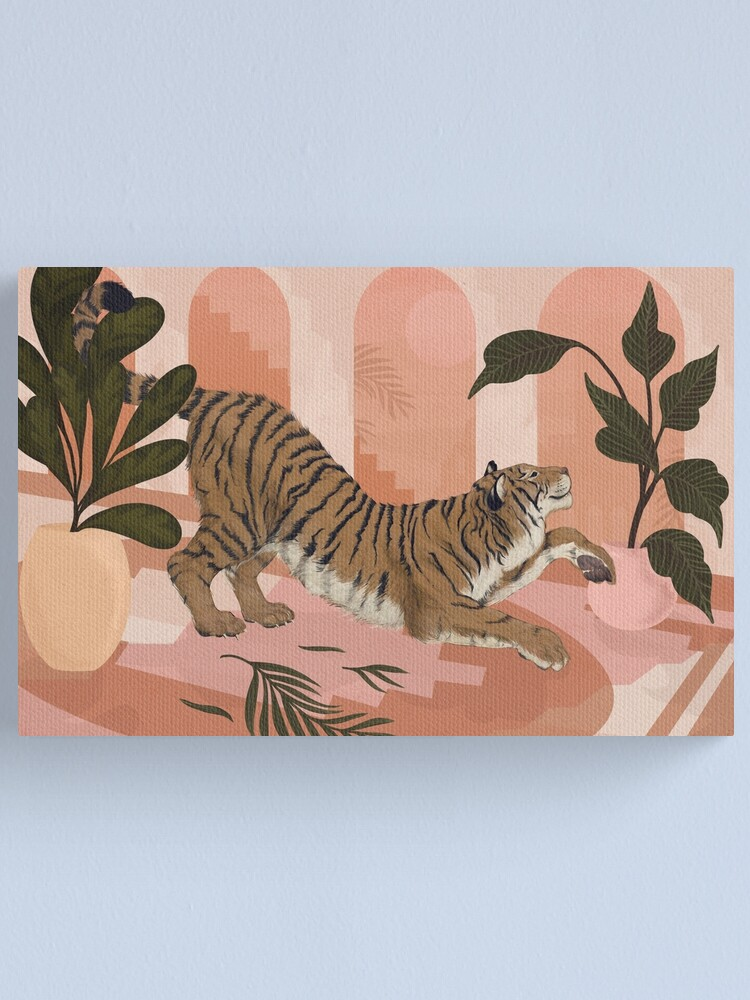 Alternate view of Easy Tiger Canvas Print