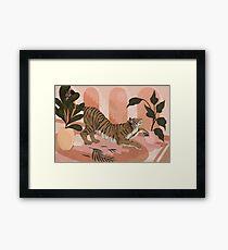 Easy Tiger Framed Print