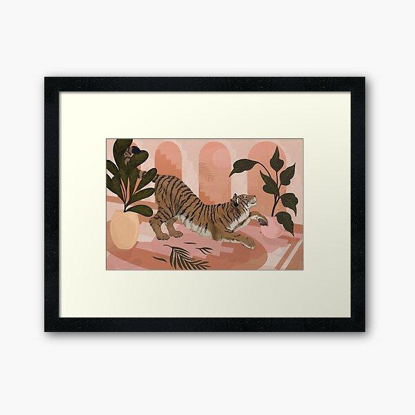 Easy Tiger Framed Art Print