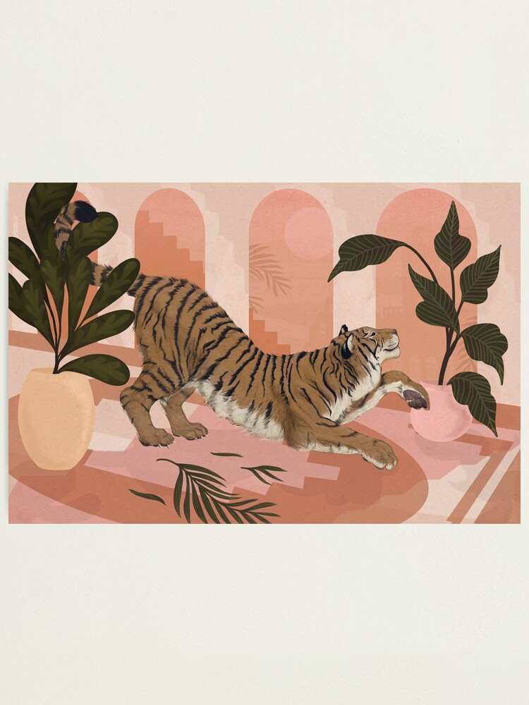 Alternate view of Easy Tiger Photographic Print