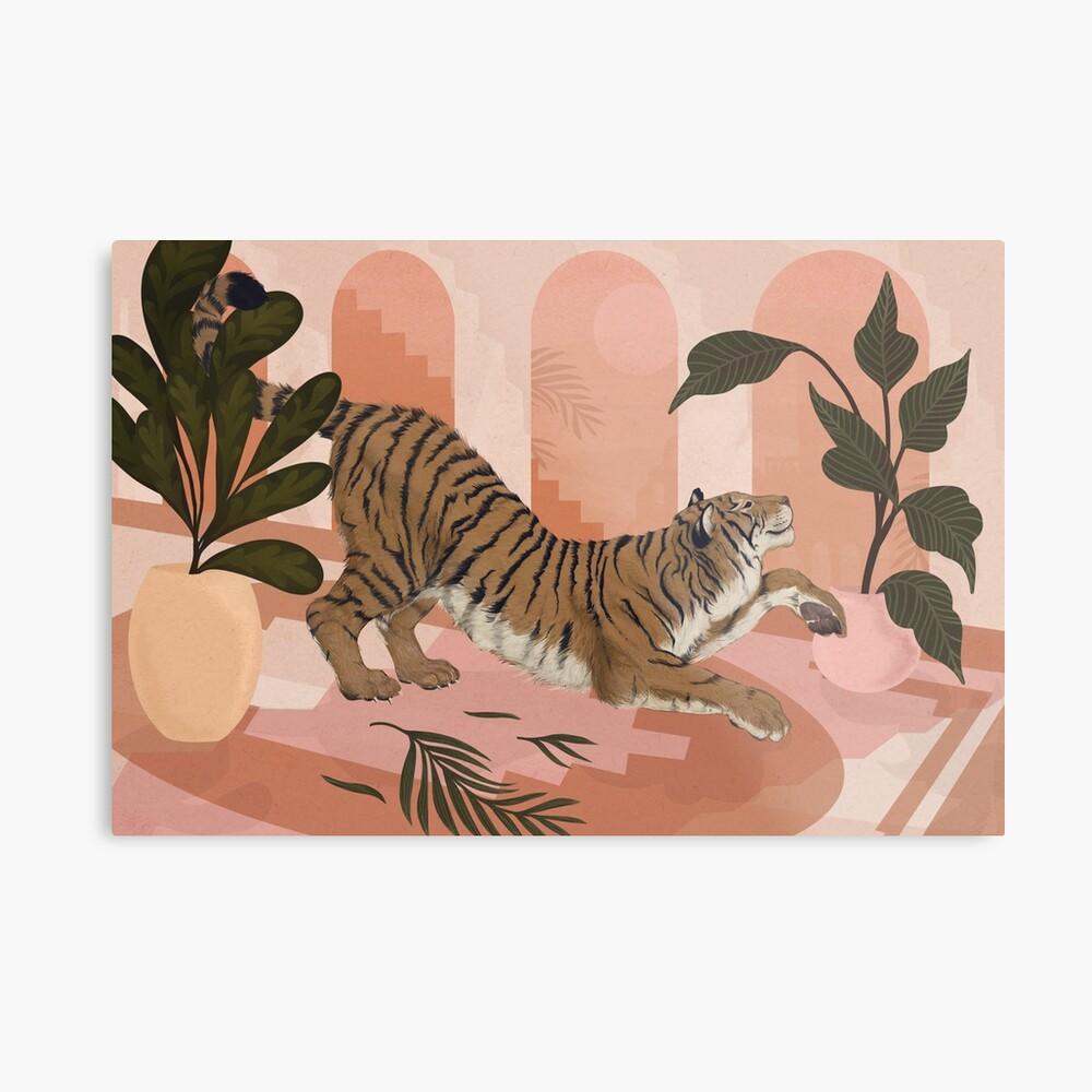 Easy Tiger Metal Print