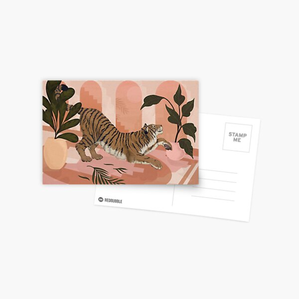 Easy Tiger Postcard