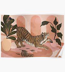 Ruhig Tiger Poster