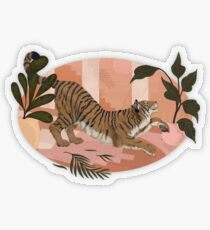 Easy Tiger Transparent Sticker
