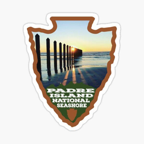 Padre Island National Seashore arrowhead Sticker