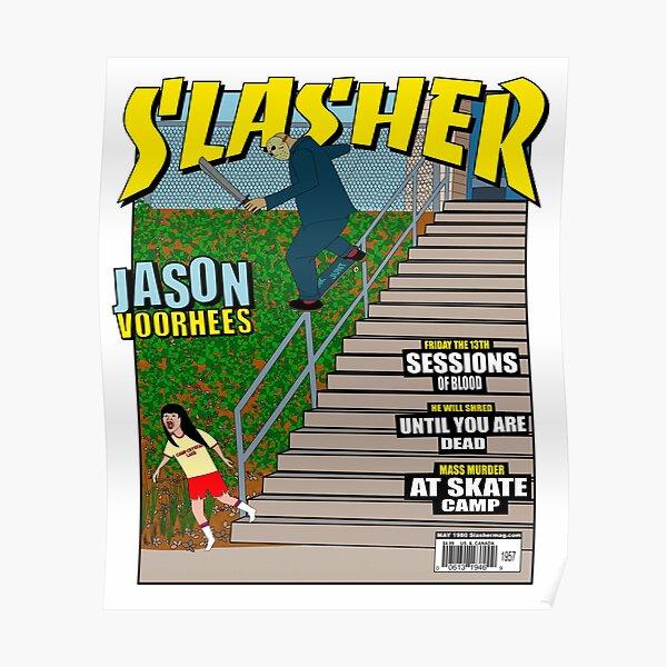 Jason Slasher Mag Cover Poster
