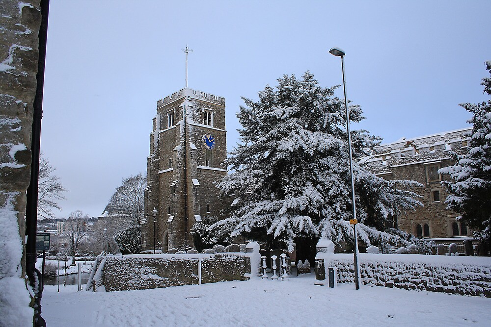 All Saints Church, Maidstone by Dave Godden