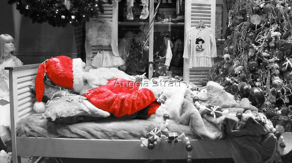 Santa is Dead by Angela Strati