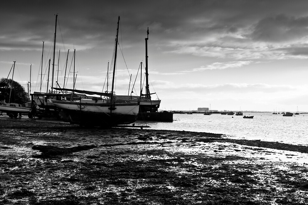Boats - West Mersea, Essex by David Isaacson