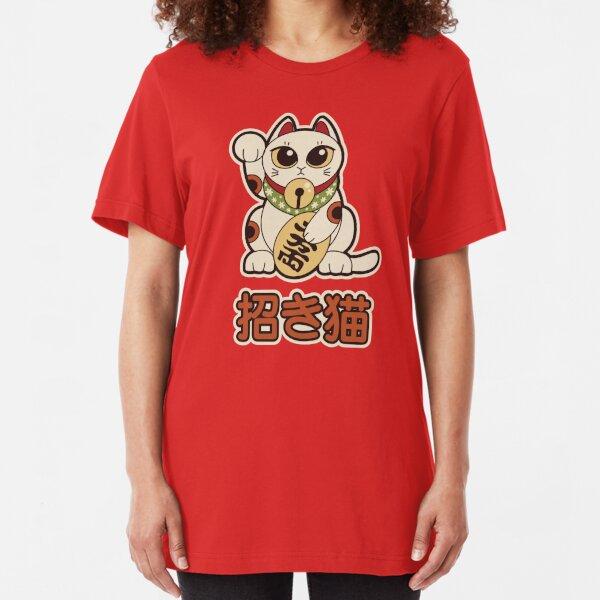 Maneki Neko  Slim Fit T-Shirt